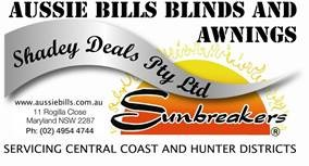 AUSSIE BILLS BLINDS & AWNINGS